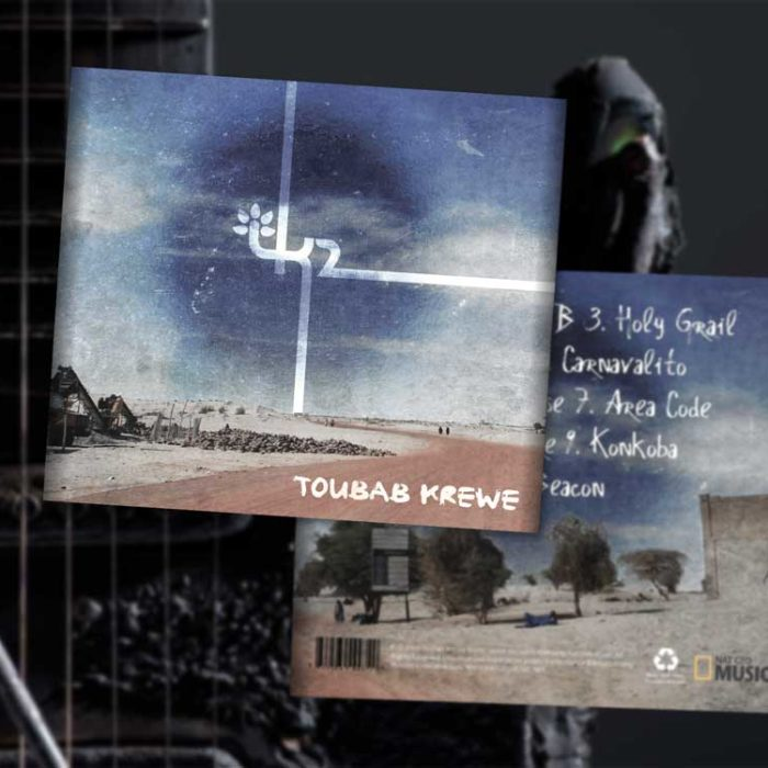 TOUBAB KREWE CD DESIGN